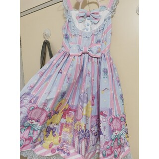 Angelic Pretty - Angelic pretty toy doll ジャンスカ サックス
