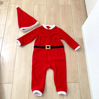 H&M - H&M クリスマス サンタ ロンパース