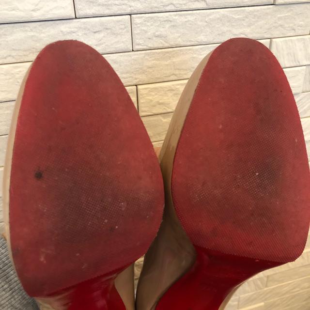 Christian Louboutin(クリスチャンルブタン)のクリスチャンルブタン ニュウシンプルパンプ ヌード 38.5 レディースの靴/シューズ(ハイヒール/パンプス)の商品写真