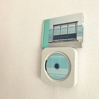 MUJI (無印良品) - 壁掛け式CDプレーヤー 無印良品 良品計画 プレイヤー
