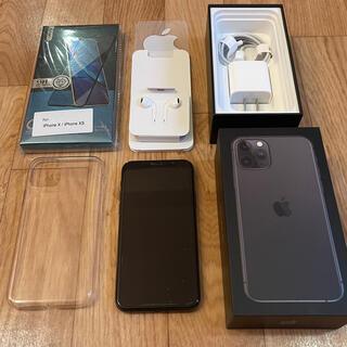 iPhone - 【おまけ付】iPhone 11 pro 512GB スペースグレイ simフリー