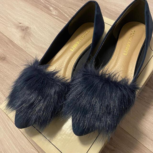 FRAY I.D(フレイアイディー)のファーパンプス レディースの靴/シューズ(ハイヒール/パンプス)の商品写真