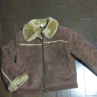 130 ジャケット 茶色 女の子  (ジャケット/上着)