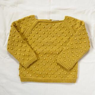 Caramel baby&child  - mish&puff   ポップコーンセーター