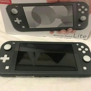 ニンテンドースイッチライト グレー Nintendo Switch lite