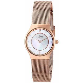 スカーゲン(SKAGEN)のSKAGEN DENMARK ローズゴールド 腕時計 233XSRR(腕時計)