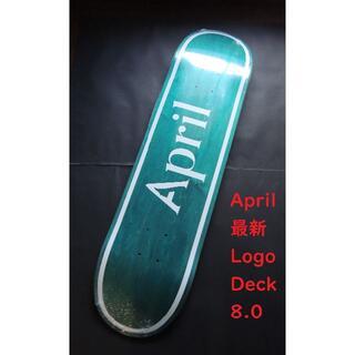 April エイプリル デッキ  8.0 緑(スケートボード)