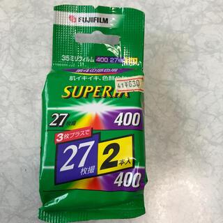 フジフイルム(富士フイルム)の35ミリフィルム400 FUJIFILM(フィルムカメラ)