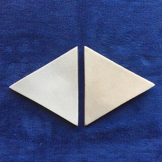 バイオラバー三角形2枚セット