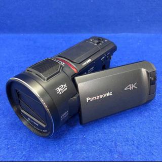 Panasonic - 展示保証★Panasonic HC-WX1M-K 4Kビデオカメラ 64GB E