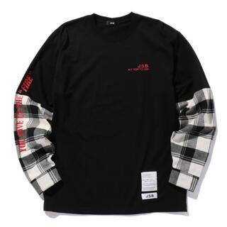 24karats - J.S.B.レイヤード風ロングスリーブTシャツ