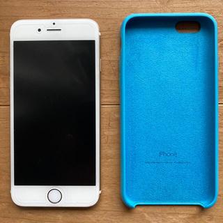 アップル(Apple)のiPhone 6 128GB ゴールド SIMフリー ♥純正ケース付き♥(スマートフォン本体)