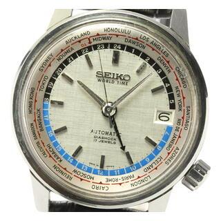 セイコー(SEIKO)のセイコー ワールドタイム 6217-7000 メンズ 【中古】(腕時計(アナログ))