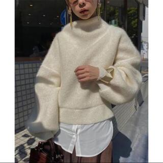 Ameri VINTAGE - ameri mild round knit ニット