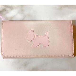 【中古】長財布 犬 ピンク♡(財布)