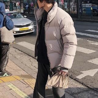サンシー(SUNSEA)のuru 17aw down jacket gray 2(ダウンジャケット)