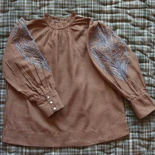 Caramel baby&child  - Bonjour diary blouse caramel check 4Y
