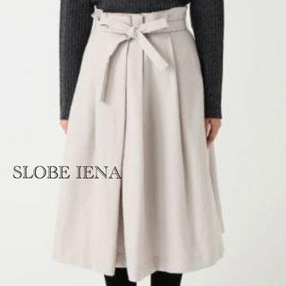 IENA SLOBE - IENA SLOBE スローブイエナ フロントリボンタックスカート
