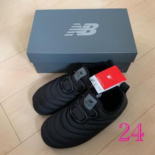 ニューバランス(New Balance)のニューバランス モック モックシューズ ブラック 黒 24(スニーカー)