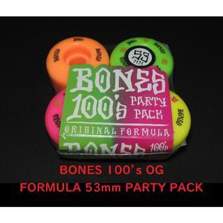 ボーンズ BONES V1 53mm PARTY PACK(スケートボード)