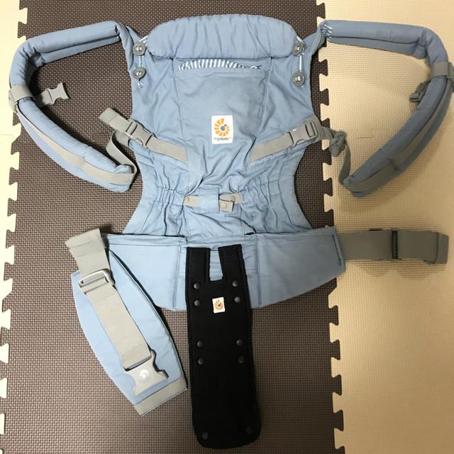 Aprica(アップリカ)のAprica ハイローチェア エルゴ抱っこ紐セット キッズ/ベビー/マタニティの寝具/家具(ベビーベッド)の商品写真