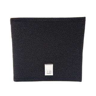 ダンヒル(Dunhill)のダンヒル  二つ折り財布  コンパクト財布   ブラック(折り財布)