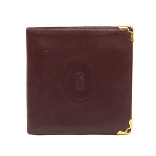 カルティエ(Cartier)のカルティエ  二つ折り財布  マストライン コンパクトウォレット 財布(折り財布)