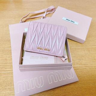 miumiu - ミュウミュウ miumiu 折財布
