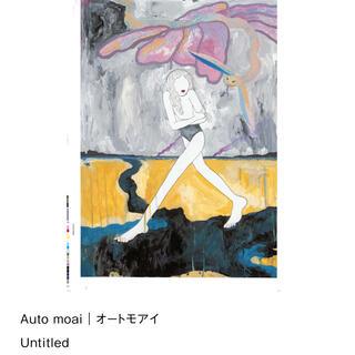 オートモアイ B2 ポスター auto moai(絵画/タペストリー)