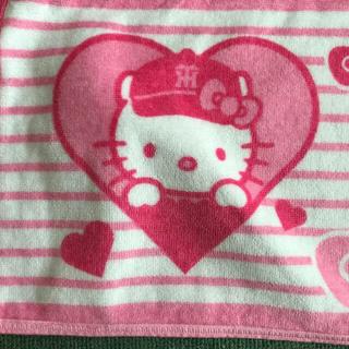 ハンシンタイガース(阪神タイガース)のキティ阪神タイガースマフラータオル(キャラクターグッズ)