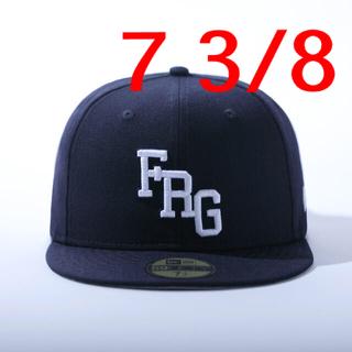 フラグメント(FRAGMENT)の新品未使用 タグ付き FRAGMENT NEW ERA  FRGロゴ 7 3/8(キャップ)