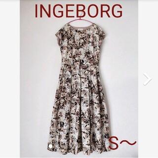 インゲボルグ(INGEBORG)のINGEBORG♡ワンピース(ロングワンピース/マキシワンピース)