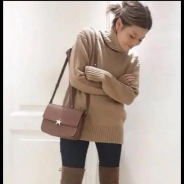 DEUXIEME CLASSE(ドゥーズィエムクラス)の新品タグ付 ドゥーズィエムクラス &DAUGHTER タートルニット レディースのトップス(ニット/セーター)の商品写真