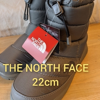 THE NORTH FACE - THE NORTH FACE  保温用防水ウィンターショートブーツ 22cm