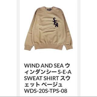 シー(SEA)の【はなび様専用】 WIND AND SEA WDS スウェット トレーナー (スウェット)