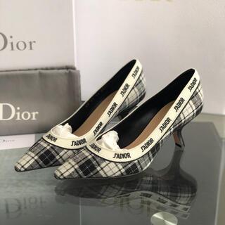 Christian Dior - 未使用 dior パンプス チェック