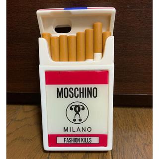 モスキーノ(MOSCHINO)のMOSCHINO iPhoneケース タバコ(iPhoneケース)