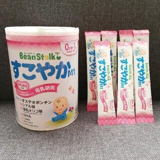 雪印メグミルク - すこやかM1ミルク 大缶、スティック