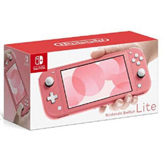 Nintendo Switch - 新品 任天堂スイッチライト コーラル 本体