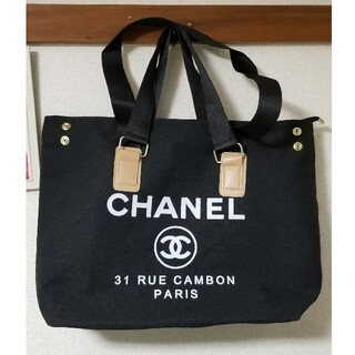 CHANEL - CHANEL キャンパス トートバッグ