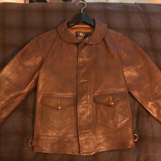 ダブルアールエル(RRL)のミーヤ様RRL xs レザージャケット Wellhouse Jacket(レザージャケット)