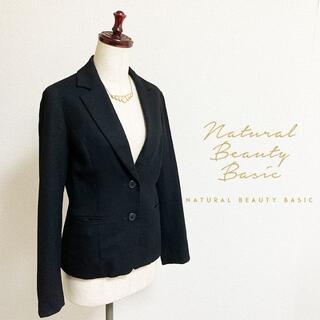 NATURAL BEAUTY BASIC - NATURAL BEAUTY BASIC☆ウールテーラードジャケット