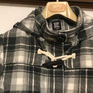 グラニフ(Design Tshirts Store graniph)のグレーチェック ダッフルコート(ダッフルコート)