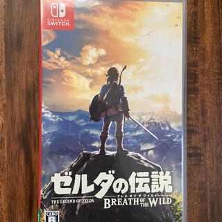 Nintendo Switch - 美品中古 ゼルダの伝説 ブレス オブ ザ ワイルド