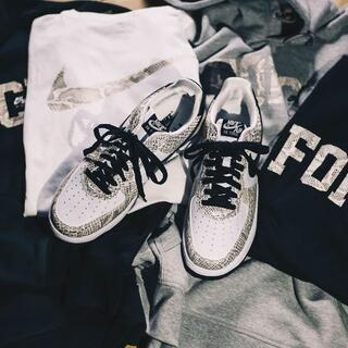 NIKE - 30cm NIKE AIR FORCE 1 LOW 白蛇 納品書付き SNKRS