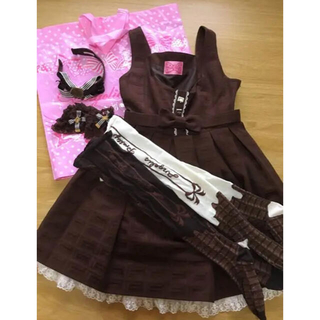 Angelic Pretty - Angelic Pretty Royal Chocolate JSK セット