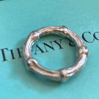 Tiffany & Co. - tiffany バンブーリング