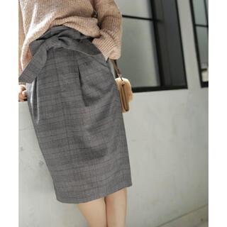 BAYFLOW - BAYFLOW チェックタイトスカート