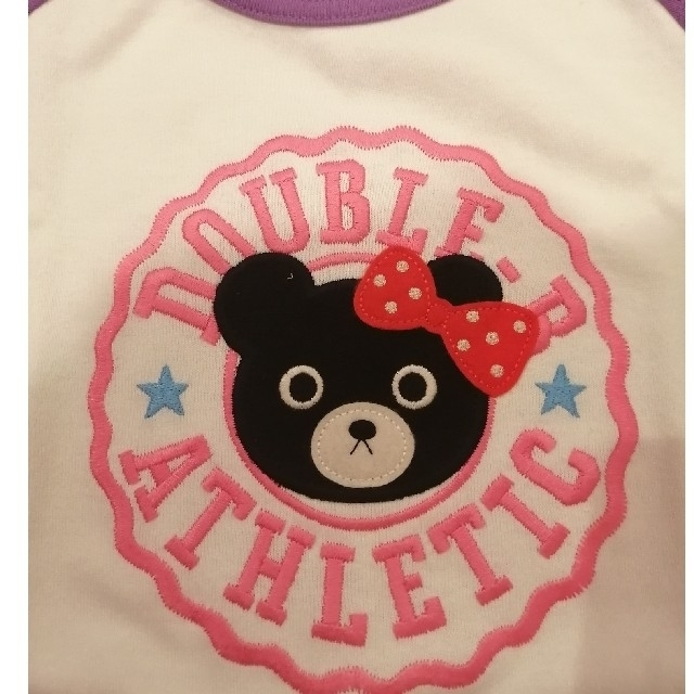 DOUBLE.B(ダブルビー)の【新品・未使用 】DOUBLE.B ロンT キッズ/ベビー/マタニティのキッズ服女の子用(90cm~)(Tシャツ/カットソー)の商品写真