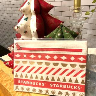 Starbucks Coffee - 値下げ スターバックス ホリデーポーチ 2020